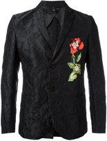Christian Pellizzari floral jacquard blazer - men - Silk/Polyester/Polyamide/Viscose - 46