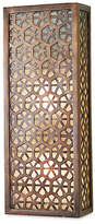 Global Views Saigon Sconce - Antiqued Bronze/Frosted