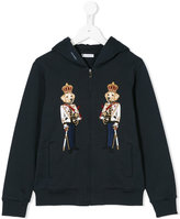 Dolce & Gabbana military dogs applique hoodie