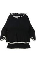 Apiece Apart Cutout Ribbed-Knit Cotton Top