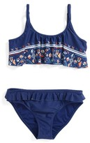 Roxy Girl's Two-Piece Swimsuit