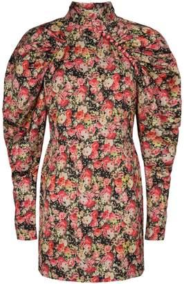 Rotate by Birger Christensen Floral-Print Mini Dress