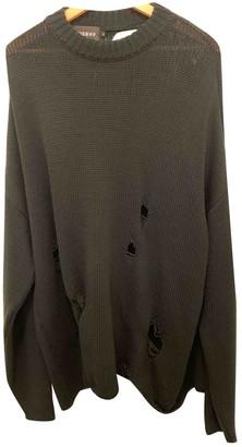 Misbhv Black Wool Knitwear