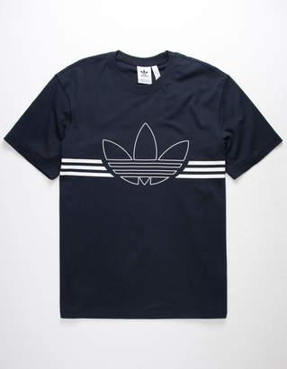 adidas Outline Trefoil Mens T-Shirt