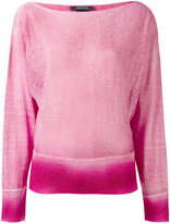 Avant Toi Bonbon knitted sweater - women - Cotton/Linen/Flax/Cashmere - S