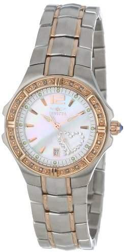 Invicta Women's 0694 Wildflower Collection Diamond Accented Two-Tone Watch