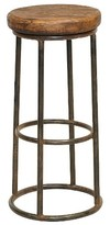 "Nobrand No Brand Backless 30"" Barstool Iron/Brown"