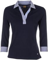Fay Three-quarter Sleeved Polo Shirt