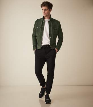 Reiss Plant - Formal Joggers in Black