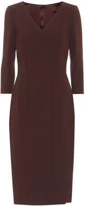 Dolce & Gabbana Stretch-crepe midi dress