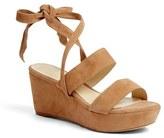 Alexandre Birman Women's Luma Ankle Tie Platform Wedge Sandal