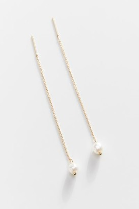 Urban Outfitters Delicate Pearl Threader Earring