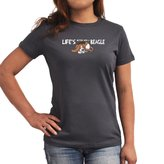 Eddany Life's better with a Beagle Women T-Shirt