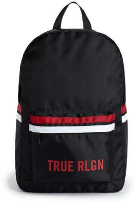True Religion LOGO STRIPE BACKPACK