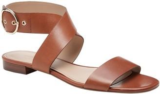 Banana Republic Leather Ankle-Strap Sandal