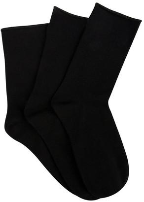 Ambra 3 Pack BCI Cotton Comfy Crew Socks