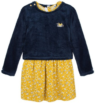 3 Pommes 2-in-1 Printed Dress and Jumper Set, 3-12 Years