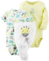 Carter's Baby Girls' 3-Piece Crab Set