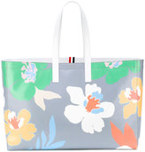 Thom Browne large floral shopper - women - Leather - One Size