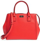 Kate Spade 'prospect Place - Maddie' Grainy Leather Satchel