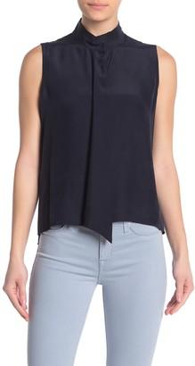 Frame Sleeveless Silk Shirt