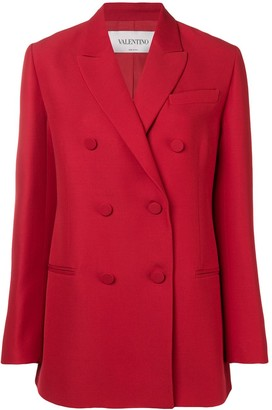 Valentino Double Breasted Blazer
