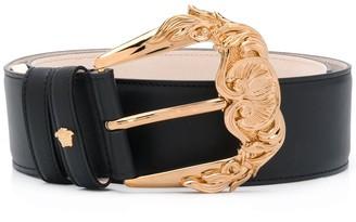 Versace Gold-Tone Buckle Belt