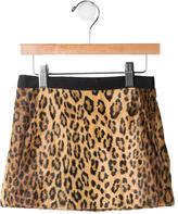 Milly Minis Girls' Patterned Mini Skirt