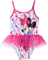 Disney Disney's Minnie Mouse Baby Girl Graphic One-Piece Swimsuit
