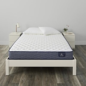 "Serta SleepTrue 11"" Malloy Firm Innerspring Mattress and Box Spring Mattress Size: Twin, Box Spring Height: Standard Profile (9"")"