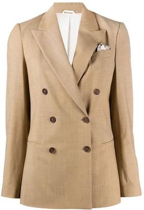 Brunello Cucinelli Tailored Double-Breasted Blazer