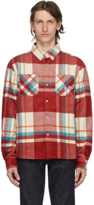 Billionaire Boys Club Red Check Over Shirt