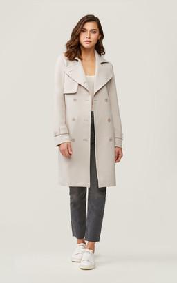 Soia & Kyo ANTONINA knee-length double-breasted coat