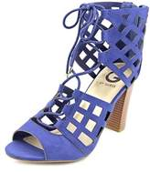 G by Guess Iniko2 Open Toe Synthetic Platform Sandal.