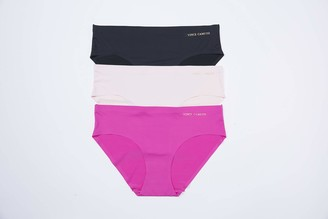 Vince Camuto Women's No Show Seamless Hipster Panty Multi-Pack Underwear