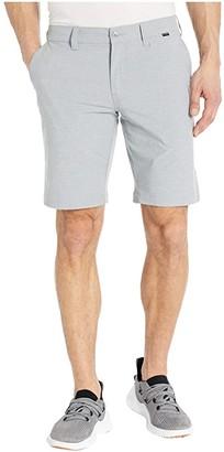 Travis Mathew Ashmore Shorts (Heather Sharkskin) Men's Shorts