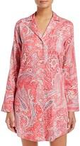 Ralph Lauren Sateen Notch Collar Sleepshirt