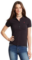 Aeropostale Womens Prince & Fox Solid Piqu? Polo Shirt