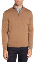 Nordstrom Men's Quarter Zip Wool Pullover