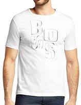 HUGO BOSS Mens Short Sleeve Cotton Terni 111 T-Shirt White (XL)