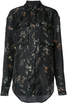 Josh Goot printed shirt - women - Silk - XS