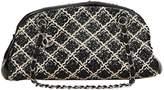 Chanel Mademoiselle tweed handbag