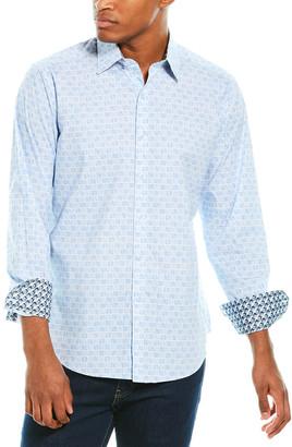Robert Graham Council Classic Fit Woven Shirt