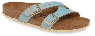 Birkenstock Yao Metallic Slide Sandal - Narrow Width - Discontinued