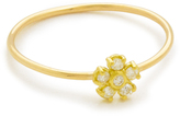 Jennifer Meyer Jewelry Diamond Single Flower Ring