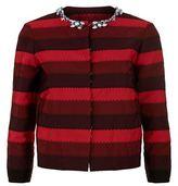 Mary Katrantzou Embellished Stripe Jacket