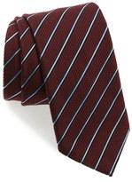 Ermenegildo Zegna Men's Stripe Silk & Wool Tie