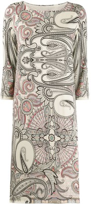 Etro Abstract Print Dress