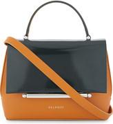 DELPOZO Patent leather cross-body bag