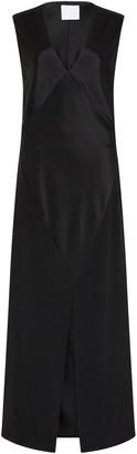 PARIS GEORGIA Bettina Sleeveless Front-Slit Maxi Dress